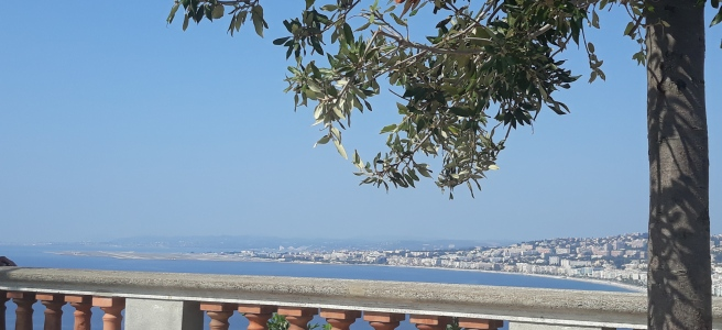 panoramic view in Nice, France
