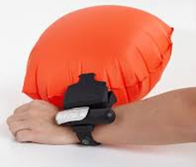 inflating anti-drowning device