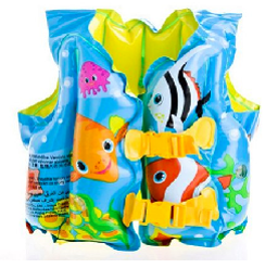 non-inflating anti-drowning device