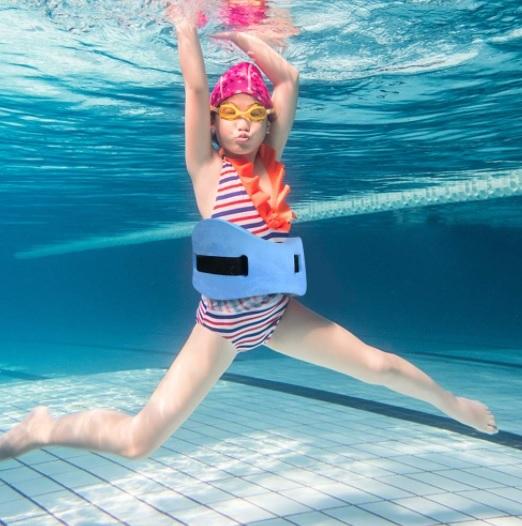 non-inflating anti-drowning belt