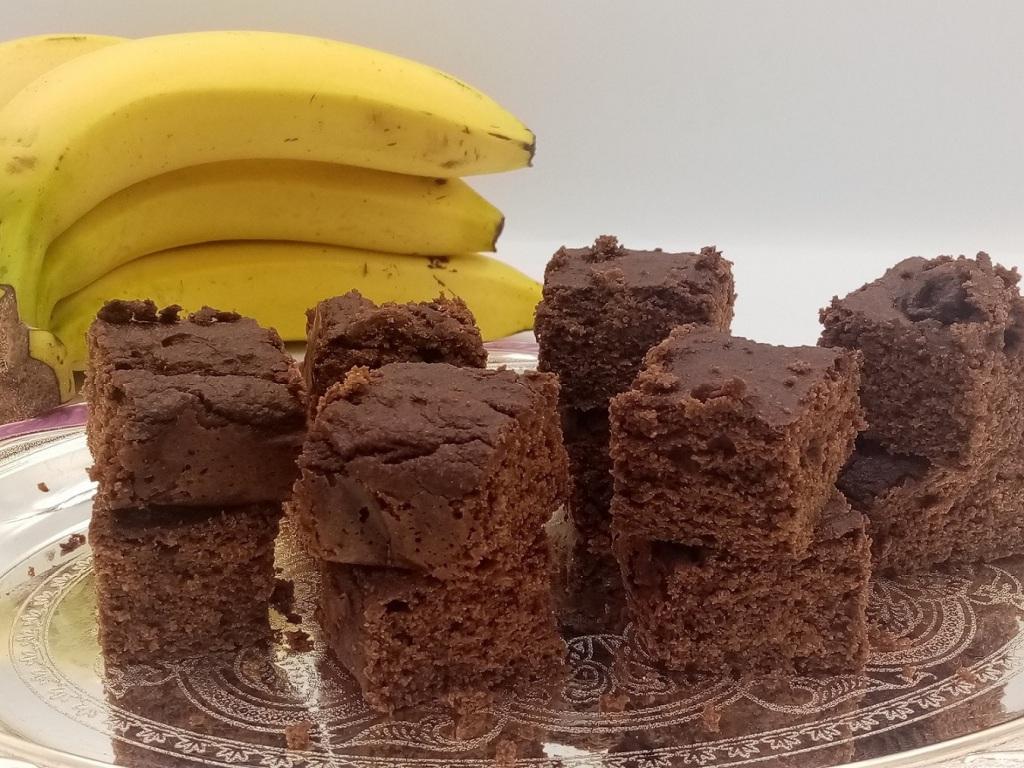 gluten-free vegan brownie