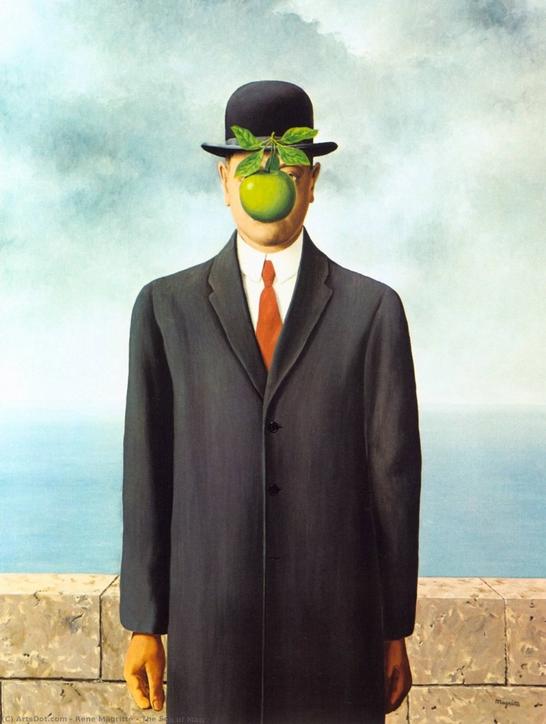 Son of the Man, 1964, by René Magritte
