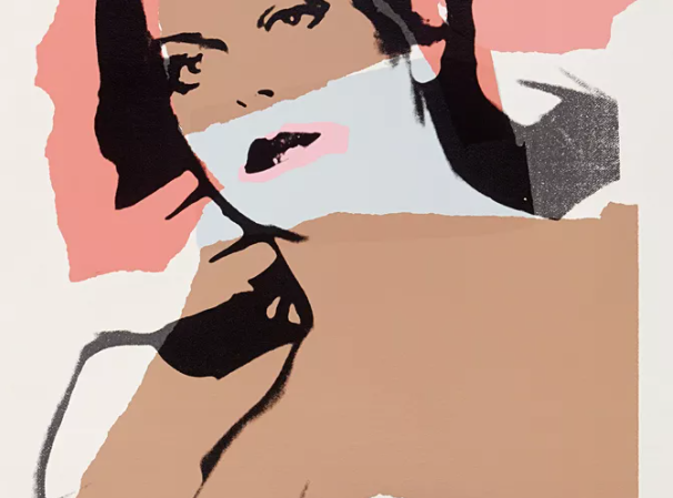 """from the silkscreen series """"Ladies and Gentlemen"""", 1975, by Andy Warhol"""